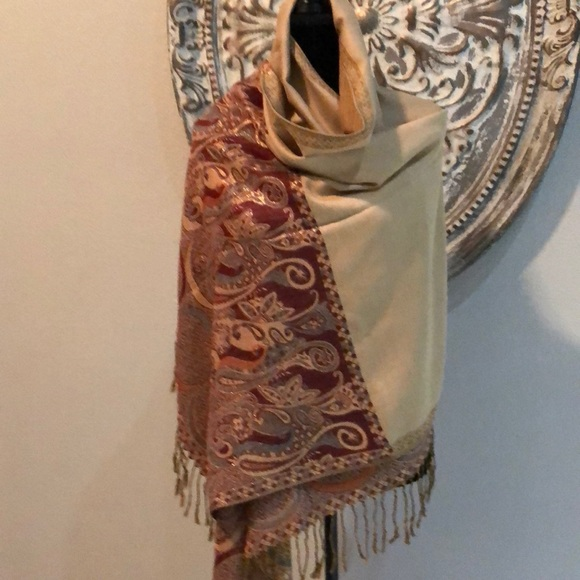 pashmina Accessories - Pashmina soft with tassels